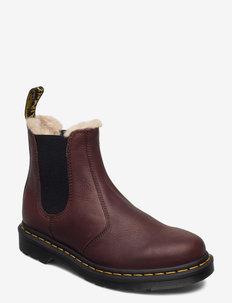 2976 Fl Black Ambassador - flat ankle boots - cask