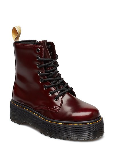 DR MARTENS Jadon Shoes Boots Ankle Boots Ankle Boots Flat Heel Rot DR. MARTENS