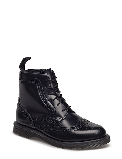 DR MARTENS Delphine Shoes Boots Ankle Boots Ankle Boots Flat Heel Schwarz DR. MARTENS