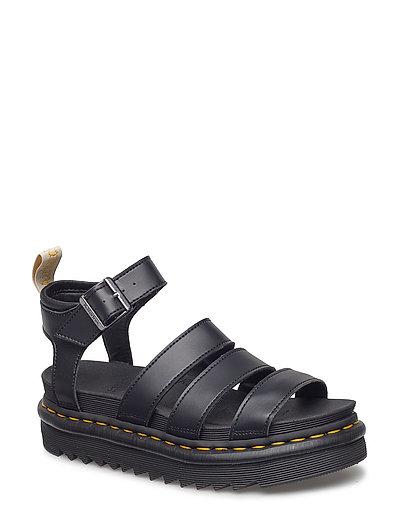 DR MARTENS V Blaire Shoes Summer Shoes Flat Sandals Schwarz DR. MARTENS