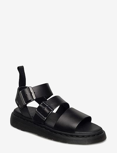 GRYPHON - platte sandalen - black