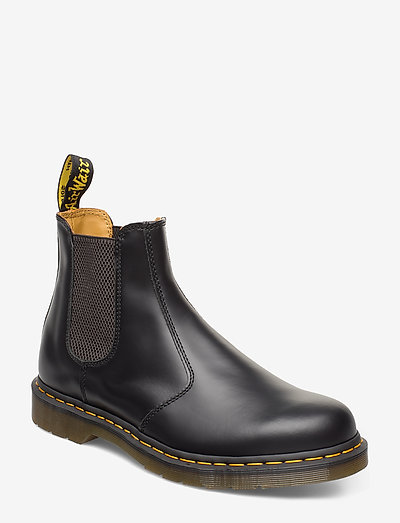 2976 Ys Black Smooth - chelsea boots - black