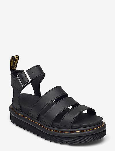 Blaire - platte sandalen - black