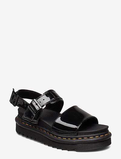 Voss - platte sandalen - black