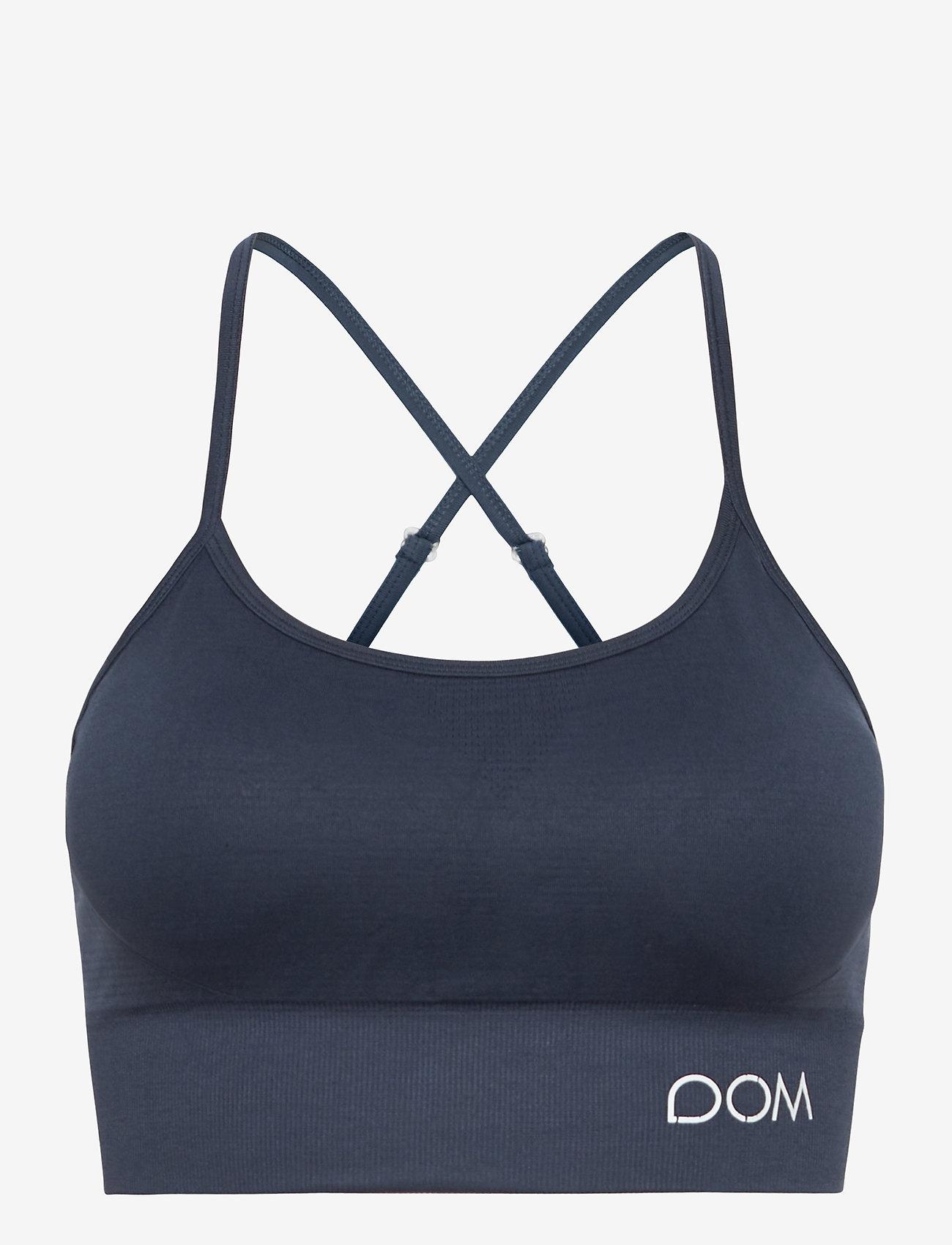 Drop of Mindfulness - TRINITY - sport bras: low - dark blue - 1