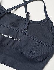Drop of Mindfulness - TRINITY - sport bras: low - dark blue - 5