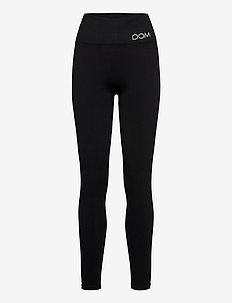 Cora Seamless Tights - løpe- og treningstights - black