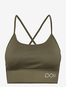 Trinity Sports Bra - sport bras: low - green forest