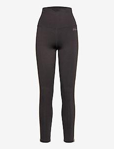 Eden Piped Tights - running & training tights - ash grey