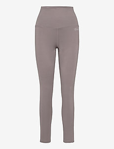 EDEN PIPED - running & training tights - taupe