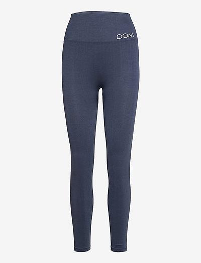CORA - running & training tights - dark blue