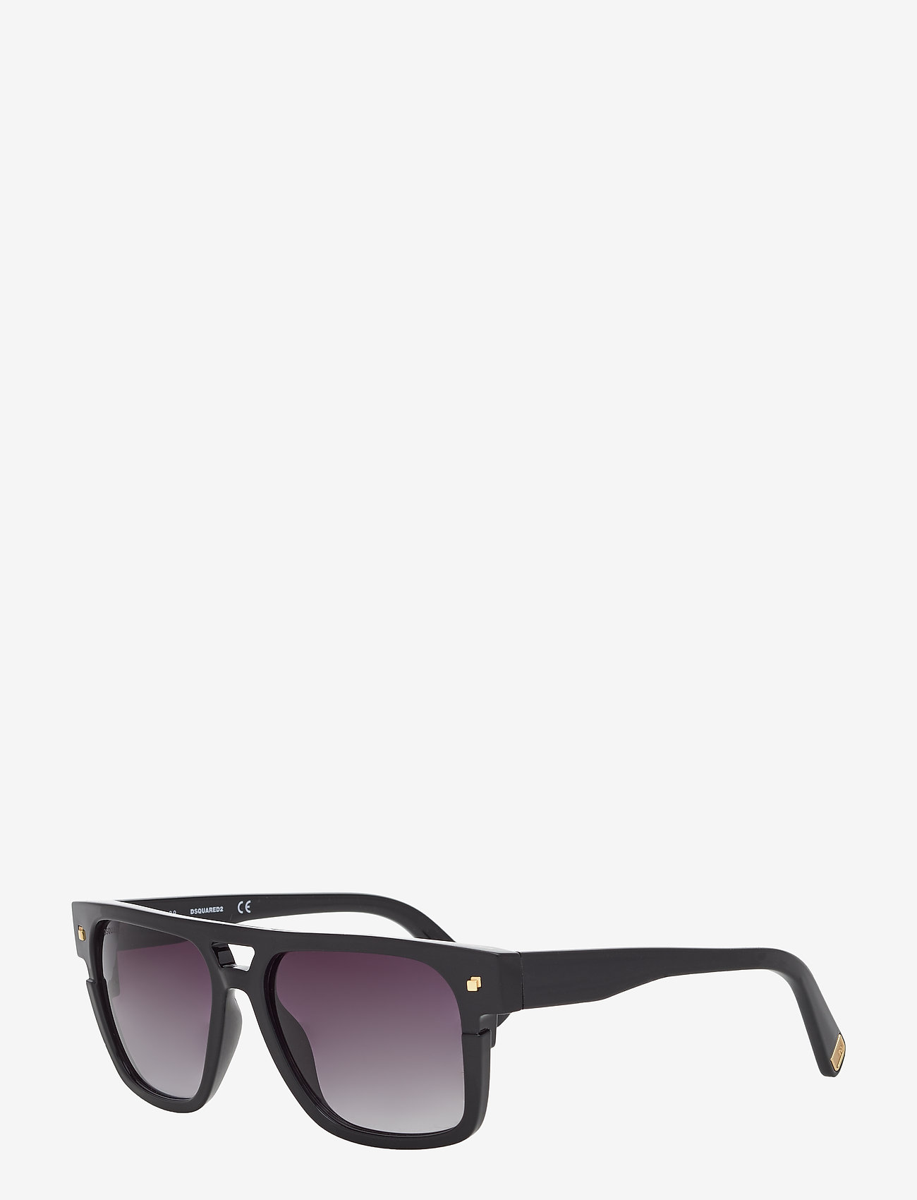 DSQUARED2 Sunglasses - Dsquared VICTOR - d-muotoiset - shiny black - 1