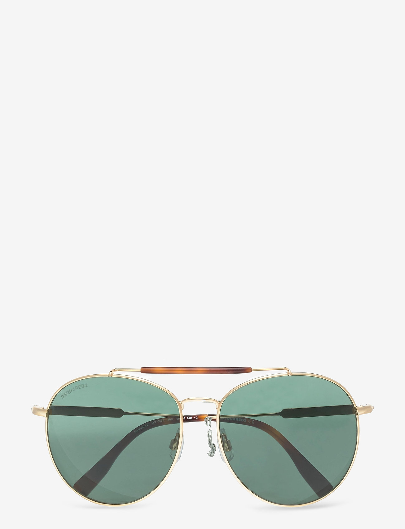 DSQUARED2 Sunglasses - MANUELLE - pilot - shiny deep gold - 0