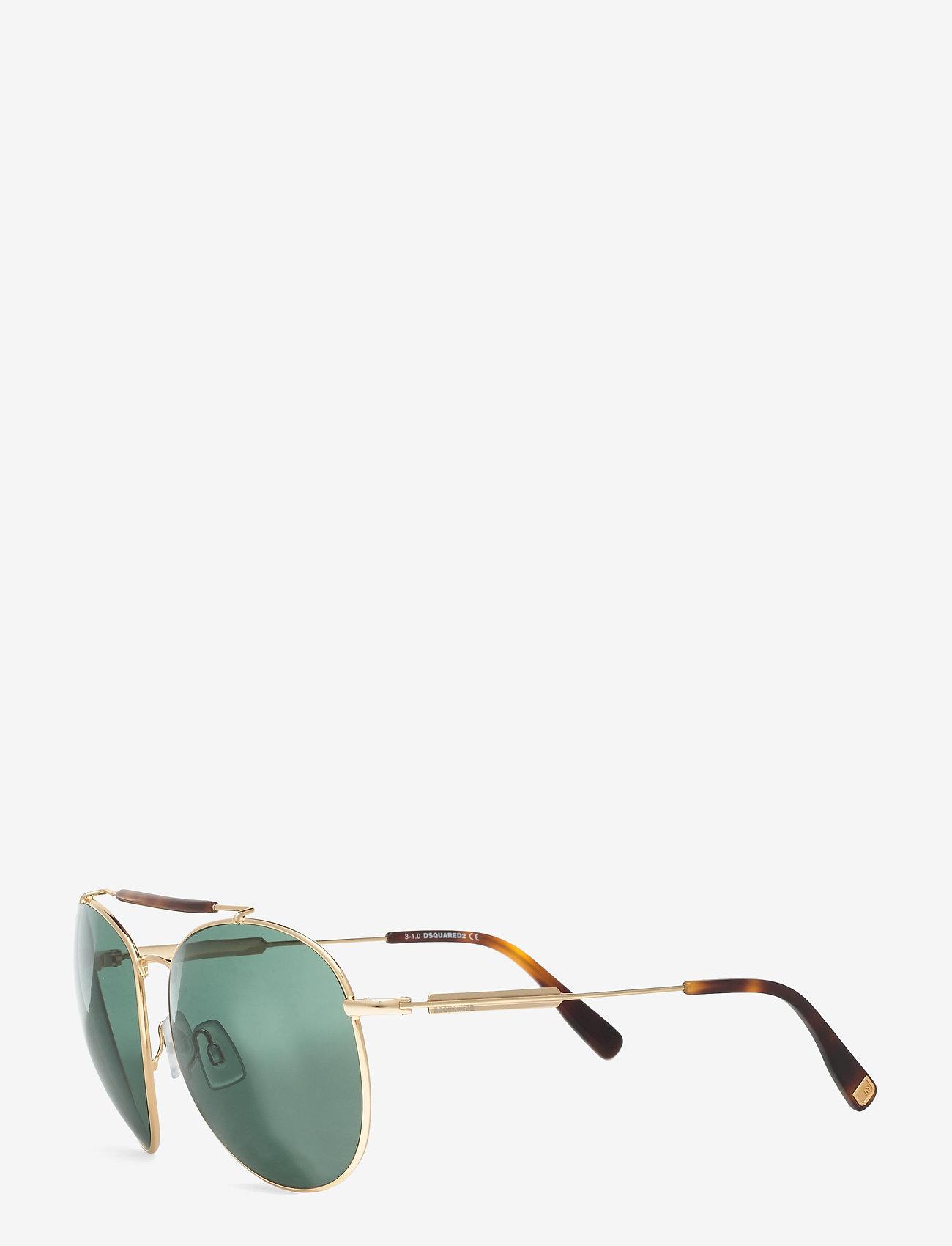 DSQUARED2 Sunglasses - MANUELLE - pilot - shiny deep gold - 1