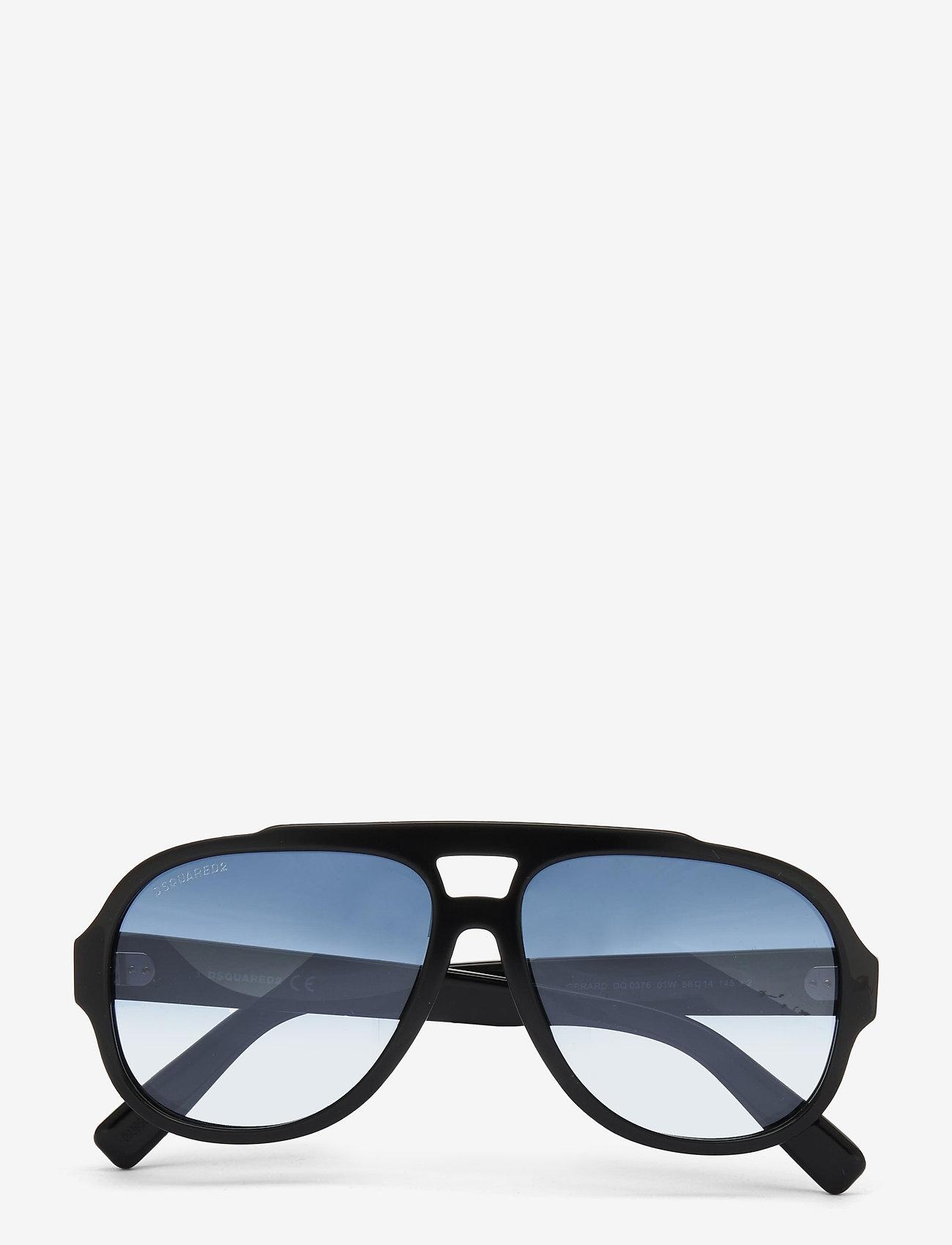 DSQUARED2 Sunglasses - Gerard - shiny black  / gradient blue - 0