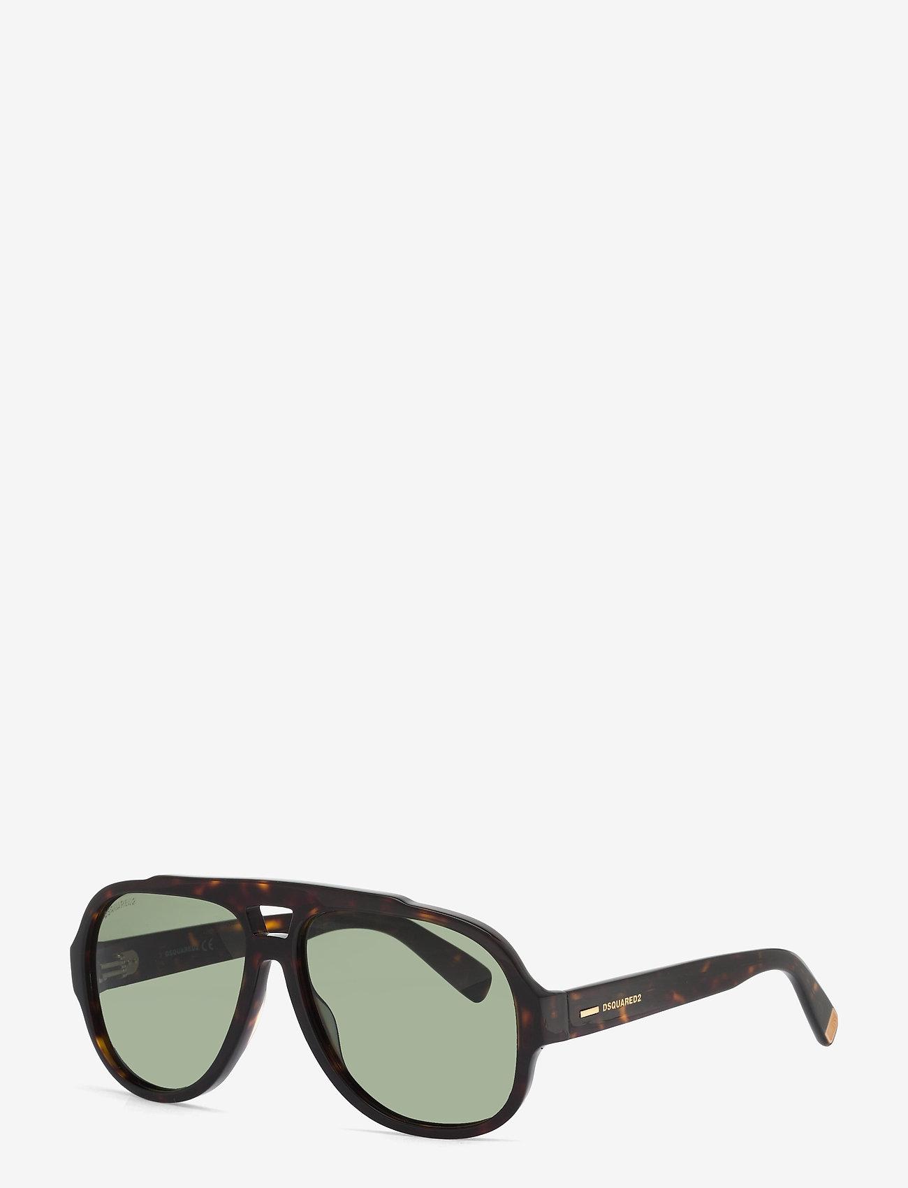 DSQUARED2 Sunglasses - Gerard - pilot - blonde havana / green - 1