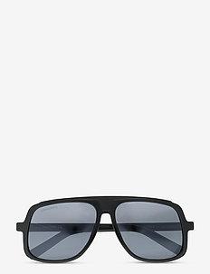 BEN - d-vormige zonnebril - shiny black