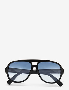 Gerard - pilot - shiny black  / gradient blue
