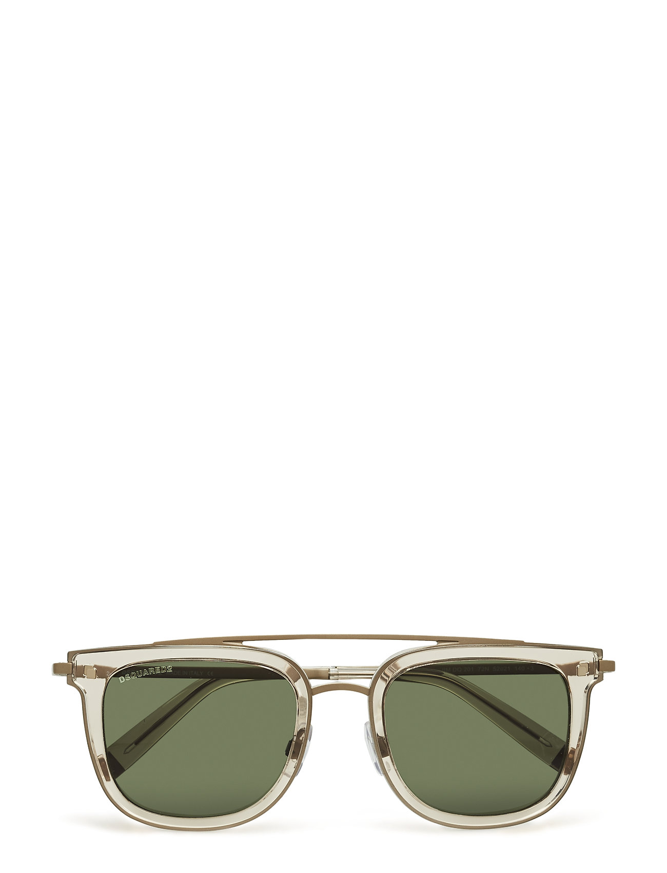 DSQUARED2 Dq0201 Wayfarer Sonnenbrille Gold DSQUARED2 SUNGLASSES