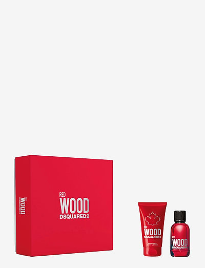 Red Wood Pour Femme EdT Gift Set EdT 30ml + Body Lotion 50ml - parfymset - clear