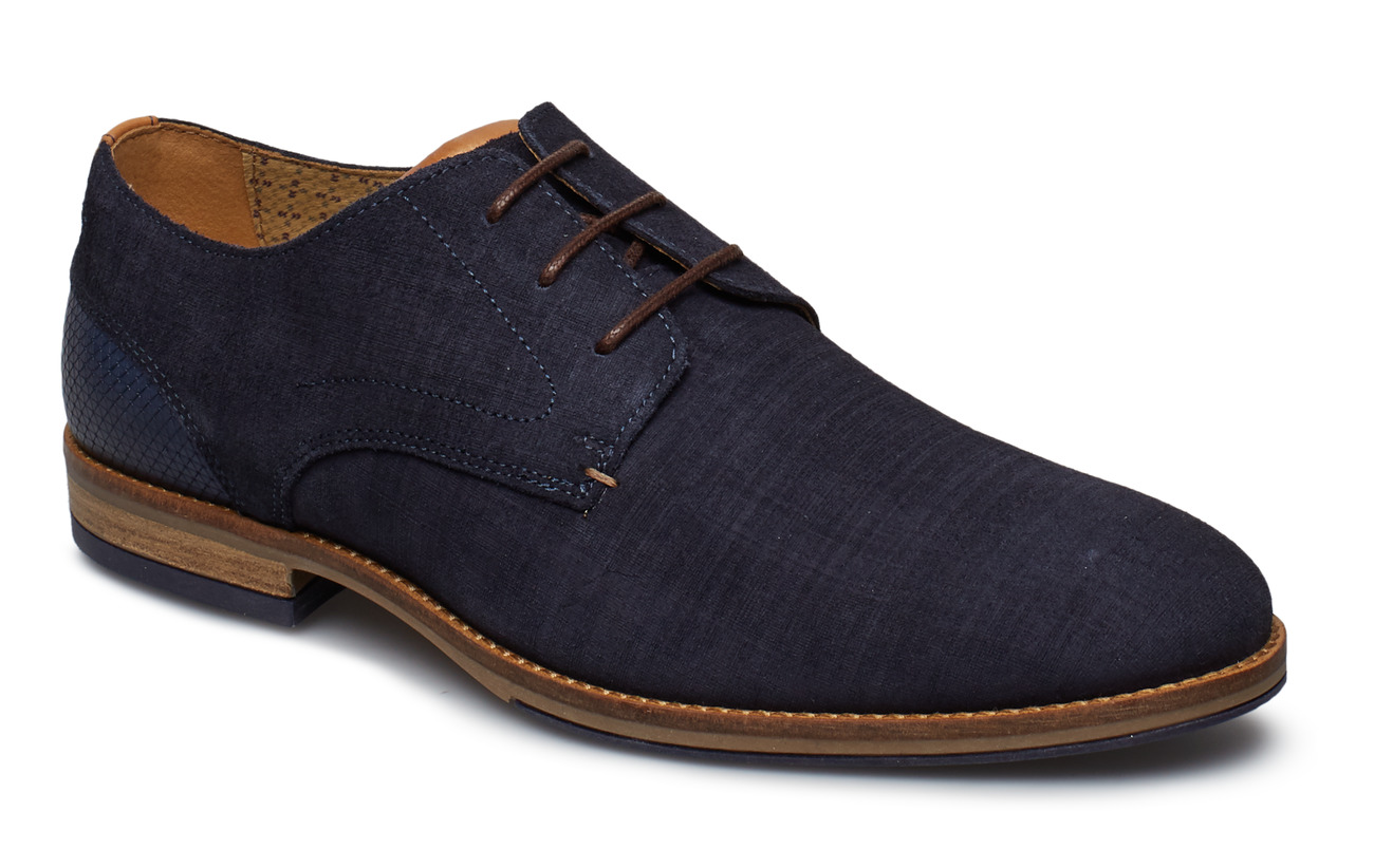 Dune London BARRIE - NAVY-SUEDE