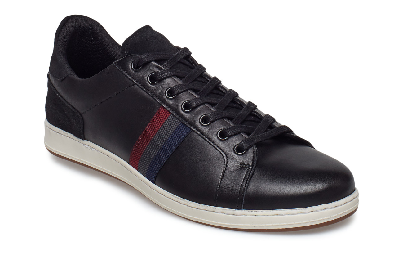 Dune London TAYPORT - BLACK-LEATHER
