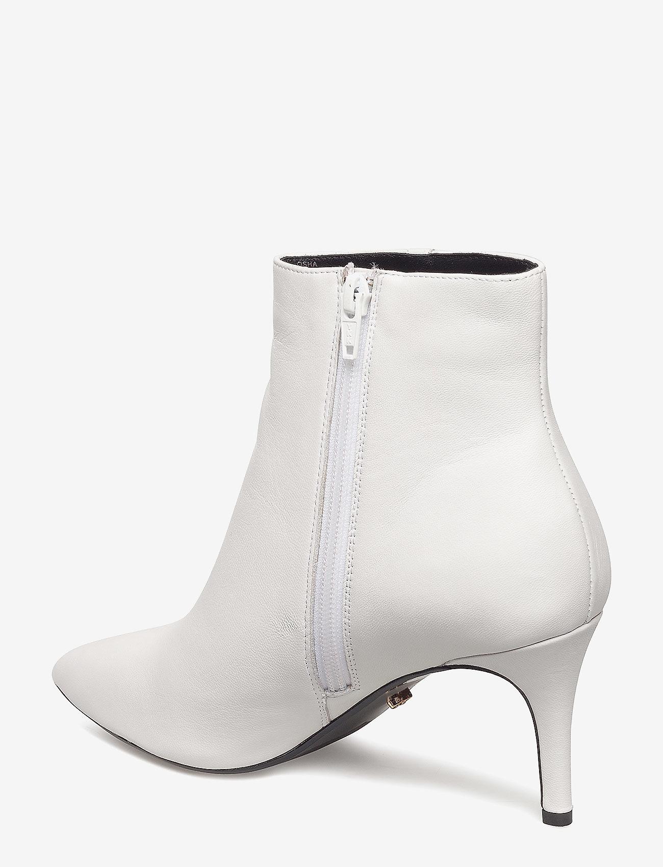 Osha (White-leather) - Dune London