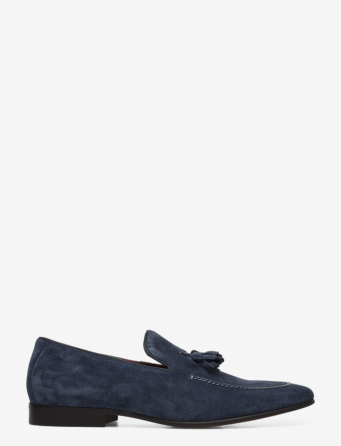Dune London - Spirited - loafers - navy - suede - 1