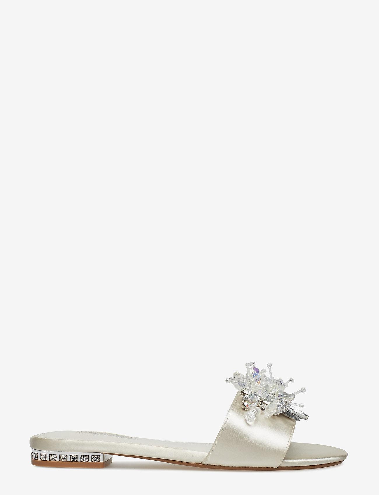 Dune London - NEWLYWED - bridal shoes - ivory-satin