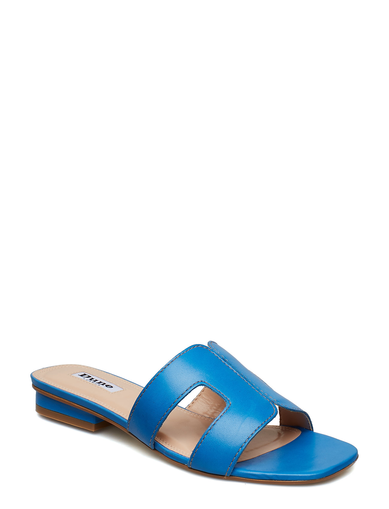d0af1f0d8420 Hvid Dune London Loupe flade sandaler for dame - Pashion.dk