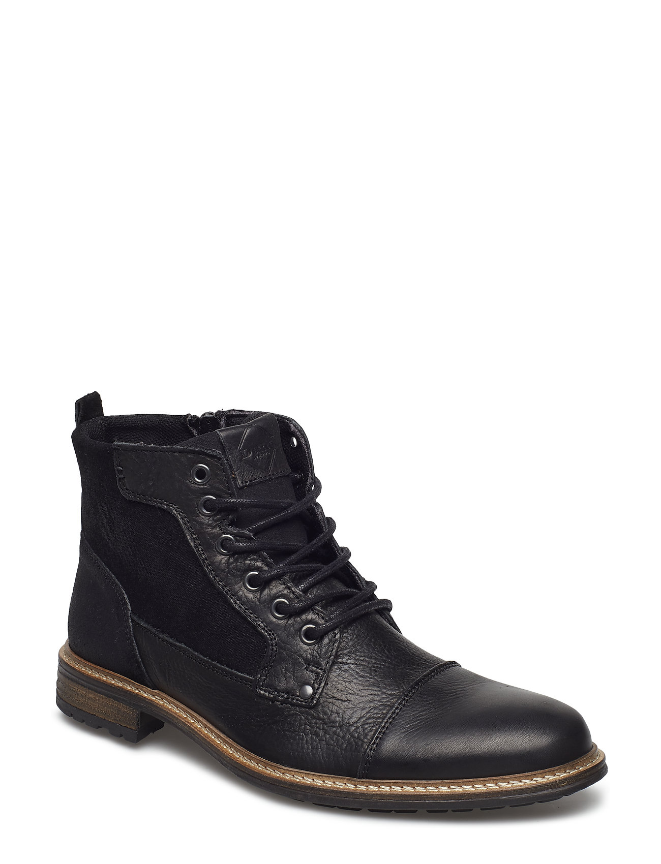 Dune London COUTINHO - BLACK-LEATHER