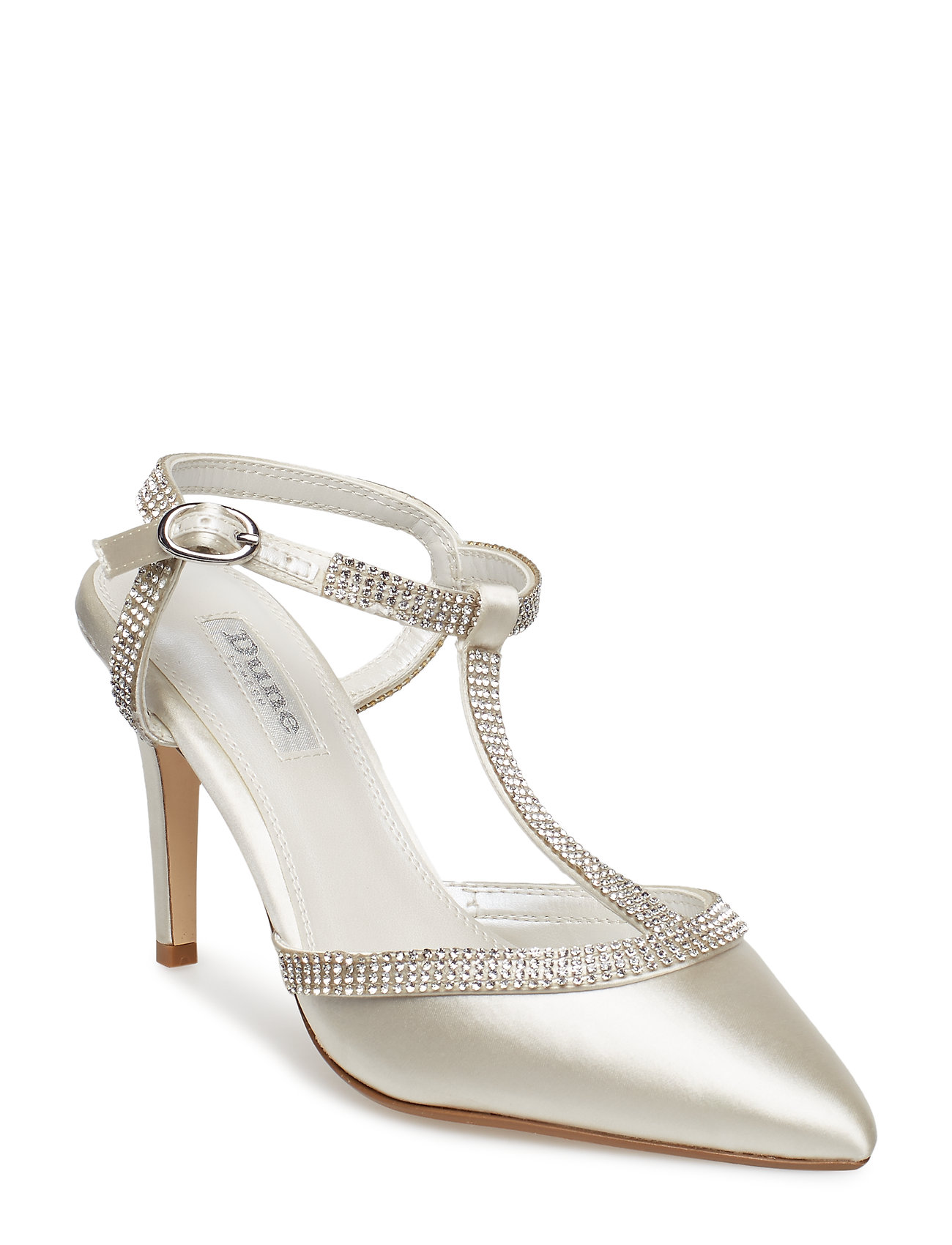 Dune London DELIGHTES - IVORY-SATIN