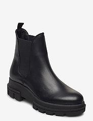 Dune London - Provense - chelsea boots - black leather - 0