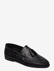 Dune London - Burlingtons - loafers - black - leather - 0