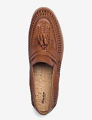 Dune London - Burlingtons - loafers - tan - leather - 3