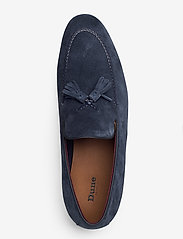 Dune London - Spirited - loafers - navy - suede - 3