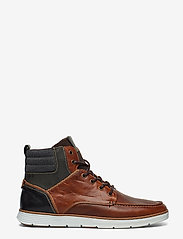 Dune London - CARRICKS - baskets montantes - tan-leather - 1
