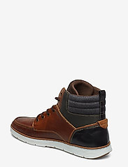 Dune London - CARRICKS - baskets montantes - tan-leather - 2