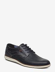 Dune London - BAMFIELD - low tops - navy-leather - 0