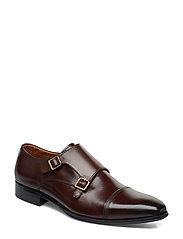 Piramid Shoes Business Monks Brun DUNE LONDON