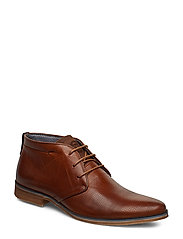 CARSONS - TAN-LEATHER