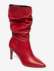 REENIE - RED-LEATHER