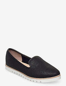 Galleon - loaferit - black leather
