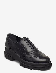 Funk - buty sznurowane - black leather