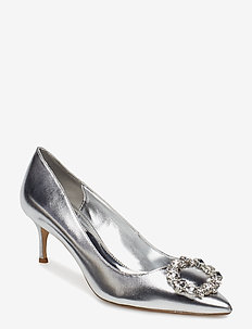 BEAULA - klassiska pumps - silver-metallic
