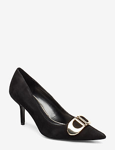 BRIONI 2 - klassiske pumps - black-suede