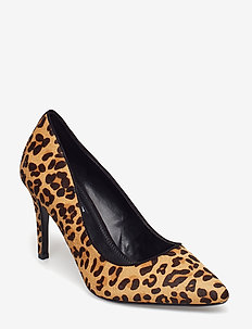 ANGELLE - klassiske pumps - leopard-leather
