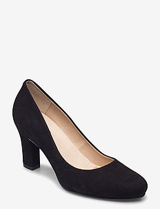 Ashen - klassiske pumps - black suede