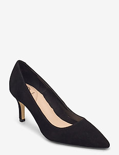 Andina - klassiske pumps - black suede