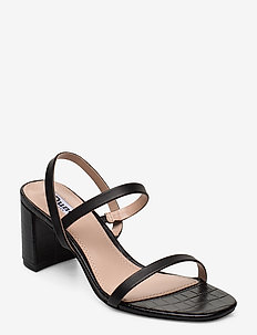 Marta - sandalen met hak - black-croc_print_leather